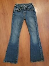 Silver Jeans size 25 x 32 Long Flare Stretch