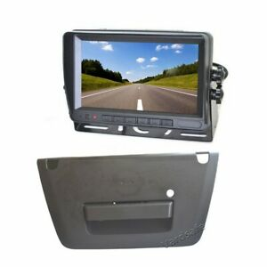 Backup Camera & 7 Inch Stand Alone Rear View Monitor for Nissan Frontier