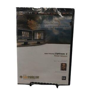 Adobe Lightroom 2: Power Session DVD by Matt Kloskowski DEAD STOCK Sealed
