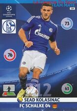 228 SEAD KOLASINAC FC.SCHALKE 04  CARD CHAMPIONS LEAGUE ADRENALYN 2015 PANINI
