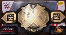 Wwe Nxt 2018 Rare Live Action Black Championship Belt For Kids 8+ Brand New!