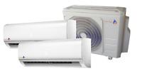 KK-Tec Dual Inverter System Klimaanlage Serie FAIRWIND R32 2,5+2,5