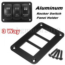 3 Way Aluminum Rocker Switch Panel Housing Holder FOR ARB Carling Narva Boat US