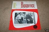 BOX OFFICE movie magazine 7/11/1966