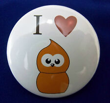 I Love(Heart) Zingy EDF energy  58mm Pin Button Badge.