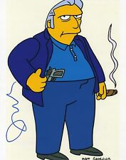 Joe Mantegna Autographed 8 x 10 As Fat Tony From The Simpsons