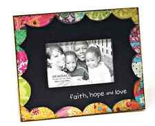 Faith Hope and Love Frame Holly Moody Colorfull Devotions Collection Demdaco