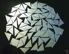 100 TRIANGLES SILVER GLASS MIRRORS Mosaic tile Supplies