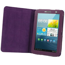 "BOOK COVER IN PELLE PER SAMSUNG GALAXY TAB2 7"" GT P3100 P3110 +PENNINO CUSTODIA"
