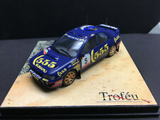 1/43 TROFEU 610  Subaru Impreza Die Cast Model 4x4 Turbo 555