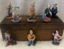 ArtMark and Unmarked Vintage Clown Figurines (Lot Of 9)