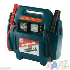 12v 900A 2500cc Portable Car Battery Jump Starter Air Compressor