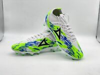 Pirma Soccer Cleats-Style 3036-White/Blue/Green - Ghost Premiere Elite