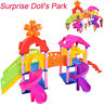 Princess Doll Park House Game Big Slide Playset Gift Toy for LOL Surprise Doll G
