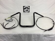 """2015-2017 Road Glide Standard Apes 15"""" x 1 1/4"""" & Cable kit-with ABS!"""