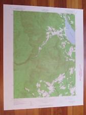 West Shokan New York 1960 Original Vintage USGS Topo Map