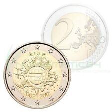 2 EURO COMMEMORATIVE IRELAND 2012 - Dix Ans de l'euro - UNC neuve