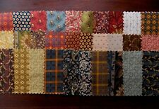 "Elizabethtown Jo Morton Fabric 30 Pc Charm Pack 5"" Fabric Squares Cotton OOP"
