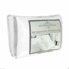 "2 pk Hotel Luxury Reserve Collection Cotton Bed Pillows 20"" x 28"" Standard Queen"