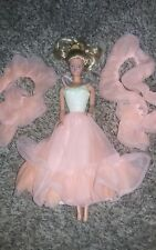 Vintage Mattel Barbie doll in  Peaches N Cream dress