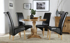 Oak Dining Room Up to 4 Seats Traditional Table & Chair Sets