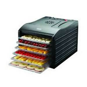 Aroma Housewares Professional 6 Tray Food Dehydrator with Adjustable Thermostat