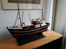 Ship Model ;Beautiful large wooden handmade model of THE ARCTIC BELLE  WY81