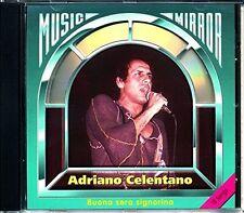 Adriano CELENTANO Buena sera accomodarvi - 18 canzoni (1993, Music mirror)
