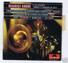 45 RPM EP MAURICE ANDRE TROMPETTE BAROQUE IN JAZZ