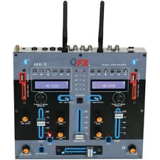 Quantum Fx Mx-3 Professional Dual Bluetooth 2 Channel Dj Mixer