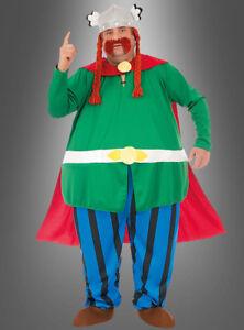 Majestix Originalkostüm aus Asterix auch XXXXL Übergröße für Herren Karneval