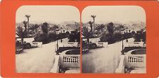 Monaco Stéréo Stereoview Vintage albumine ca 1865