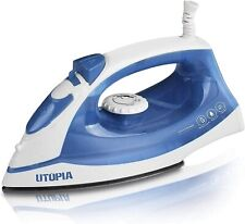 Steam Clothes Home Iron Nonstick Soleplate Small Lightweight Travel Electric
