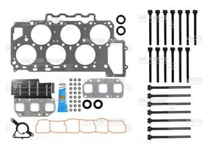 07-10 FITS VOLKSWAGEN TOUAREG  3.6 HEAD GASKET SET WITH HEAD BOLTS VICTOR REINZ