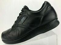 SAS Time Out Walking Shoes Black Diabetic Medicare Tripad Comfort USA Mens 8.5