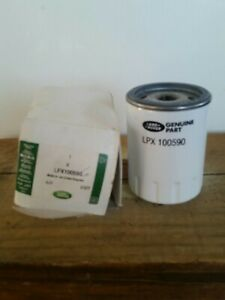 GENUINE Oil Filter Spin On Land Rover Discovery 2 Defender TD5 LPX100590