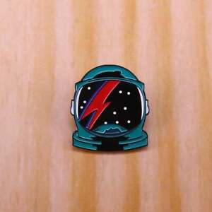David Bowie Spaceman Badge