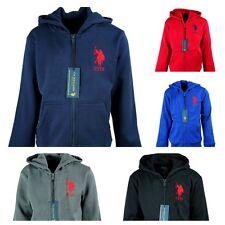 Boys Girls Kids Ex USPA Thermal Fleece Hoodie Jacket Toddler size 2 - 13 Years