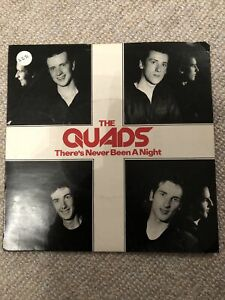 """Quads There's Never Been A Night 7"""" vinyl single record UK BB24 BIG BEAR 1979"""