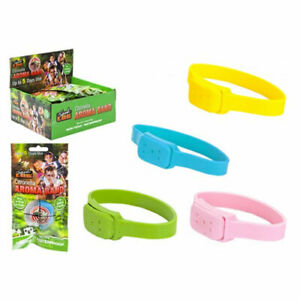 New Unisex Citronella Aroma Wrist Band Bugs Fly Mosquito Non-Toxic & Waterproof