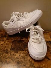 Nike Boy's Son of Force Shoes (Gs) White/White Size 6Y