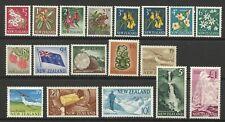 NEW ZEALAND QE11 1960-66  MINT
