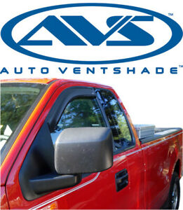 AVS 192823 In-Channel Window VentVisor 2-Piece Smoke for 2004-2015 Nissan Titan