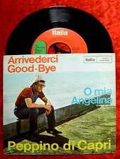 Single Peppino di Capri: Arrivederci Good-Bye (Italia J 2040) D
