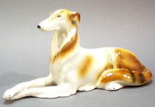 Barsoi  windhund hundefigur porzellan  figur porzellanfigur hund gemarkt