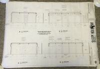 2014 Fox tv show SLEEPY HOLLOW set used BLUEPRINT~Season 2, Episode 18