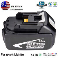 For Makita BL1840 BL1830 BL1815 LXT400 Lithium Battery18V 3.0Ah Compact Cordless