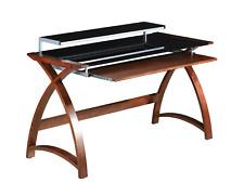 Jual Furnishings Walnut Laptop Computer Desk & Keyboard Shelf PC201-1300 130cm