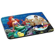 Personalised Photo Disney Princess Ariel 5mm Thick Rectangle Mouse Mat/Pad Disne