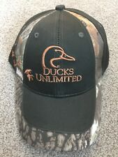 New Ducks Unlimited Mossy Oak Hat